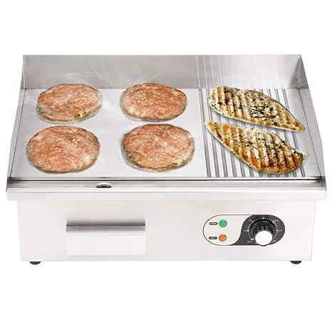 Festnight- Plancha Eléctrica de Cocina Potencia de 3000 W ...