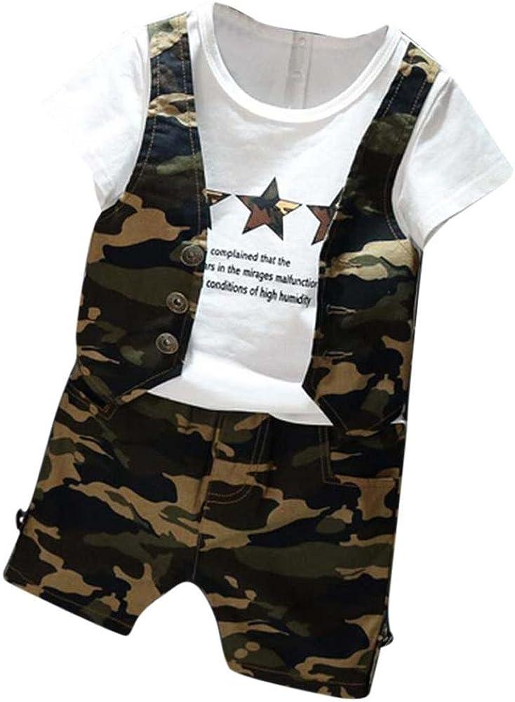 ropa ninos, Switchali 1 set Infantil Bebé Niño verano moda ...