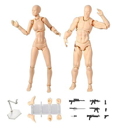 amazon com action figure model tulas human mannequin male female