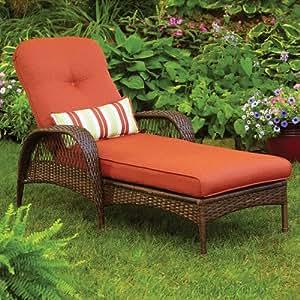 Better homes and gardens azalea ridge chaise for Better homes and gardens hillcrest outdoor chaise lounge