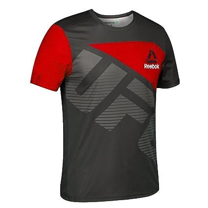 adidas Reebok UFC Official BER (BlackRed) Fight Kit Walkout Jersey Men's