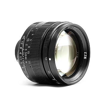c2c0e77bb7b8 7 gestaltet 50 mm f1.1 Manuelle Objektiv für Leica M Mount Stecker M240 M3