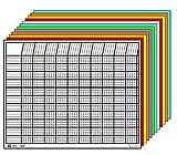 Horizontal Charts Set of 12