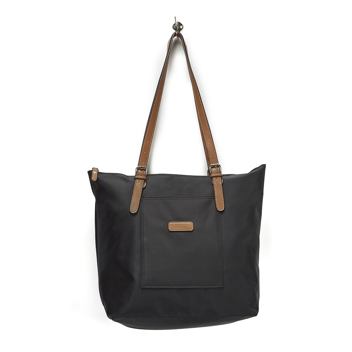 dce439ed855 Roots73 Women's 2 in 1 Tote With Crossbody Bag Black: Amazon.ca ...