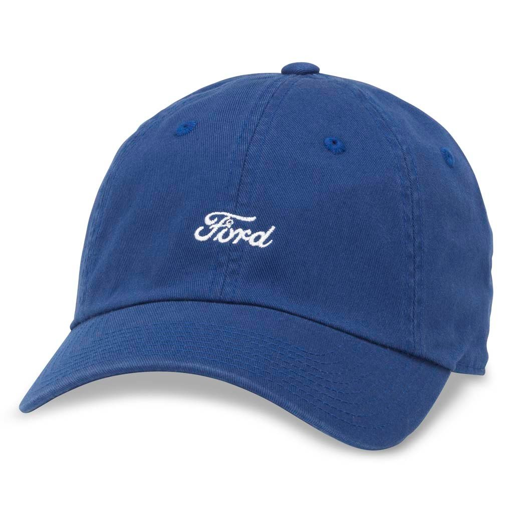 d5820b83abdf07 American Needle Micro Slouch Casual Baseball Dad Hat Ford Mustang, Bay Blue  (FORD-1706A) at Amazon Men's Clothing store: