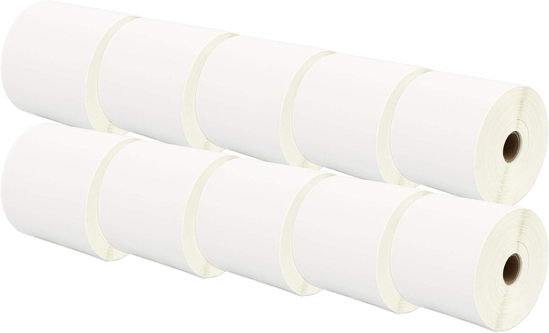 30 Rollen 100mm x 150mm Thermodirekt-Etiketten kompatibel f/ür Zebra GK420d GK420t GC420d GX420d GX420t GC420t GX430t GT800 LP2844 TLP 2844 Citizen CL-S521 CL-S621 CL-S631 500 Etiketten pro Rolle