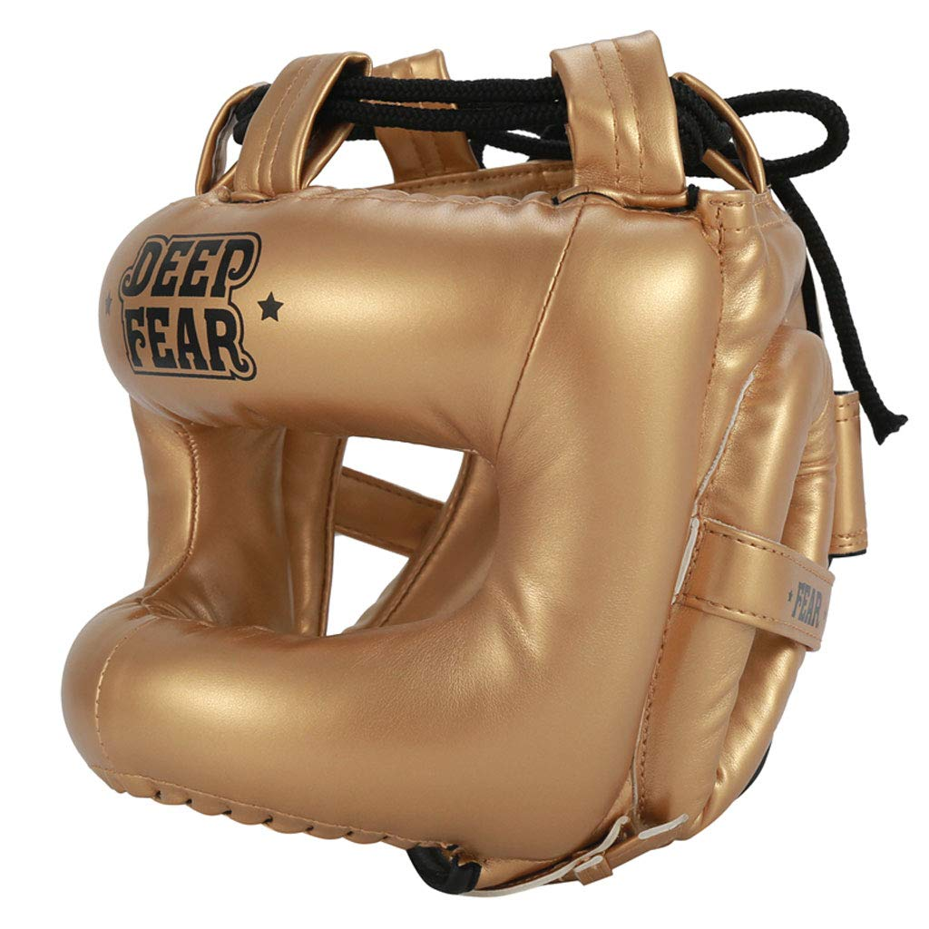 JIAAN Kickboxing Cascos Boxeo Casco MMA Kickboxing Sparring Protector Entrenamiento Lucha Cascos Sparring Kickboxing Casco Protector Entrenamiento Lucha Sparring Casco
