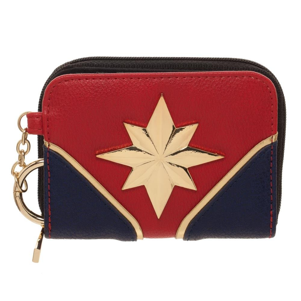 Captain marvel Wallet Marvel Gift for Girls - Marvel Wallet Captain Marvel - Marvel Comic Wallet Bioworld GW5MIJMPU