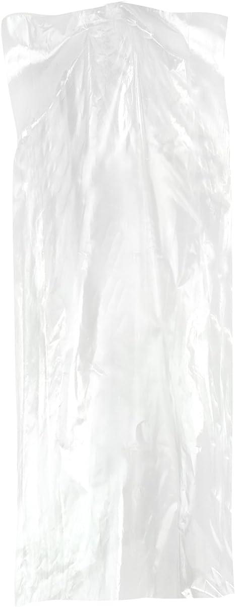 Hangerworld Rollo 360 Fundas 137cm Protecci/ón Ropa Polietileno Preagujereadas para Separar F/ácilmente