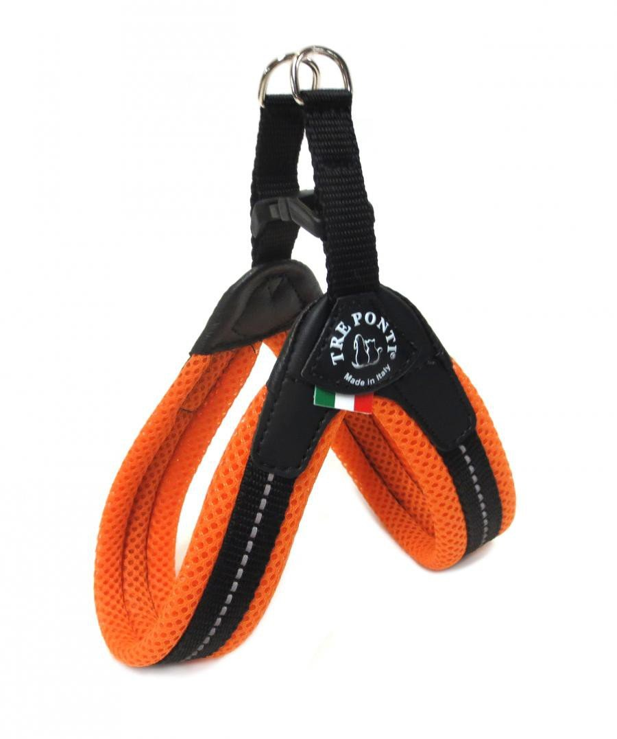 Tre Ponti Fibbia Small Dog Mesh Harness T220-1.5B