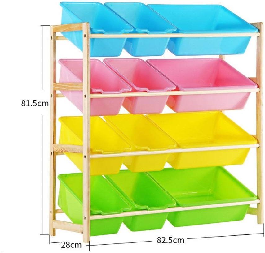 子供用おもちゃ収納ラック 女の子と男の子のための部屋の整頓された収納箱のおもちゃ箱–家庭用収納、ファブリックまたはおもちゃに最適 (Color : Beige, Size : Free size)