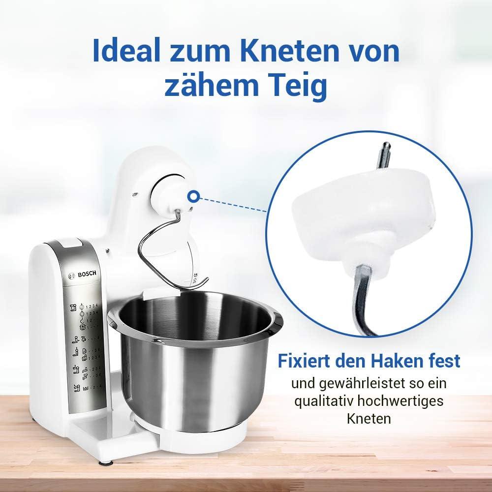 Teigabweiser - Extractor de gancho para amasar para robot de cocina Bosch Mum 5 Mum 4: Amazon.es: Hogar