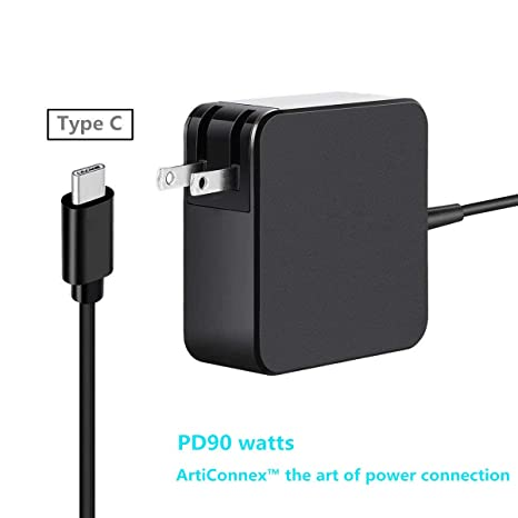 Amazon.com: ArtiConnex Cargador USB-C 90 W para Apple ...