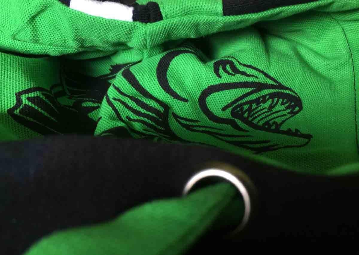 Anglerweste Sweatjacke mit Kapuze HOTSPOT DESIGN Zip Sweater Zander Obsession