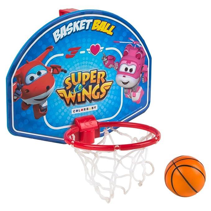 Super Wings - Mini canasta de baloncesto 28x22 cm (77053): Amazon ...