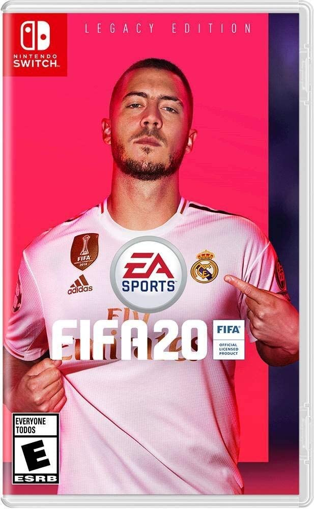 Image result for FIFA 20 cover switch""