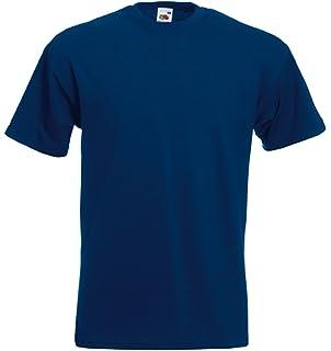 64c1ed70a3e Fruit of the Loom Men s Super Premium Short Sleeve T-Shirt  Amazon ...