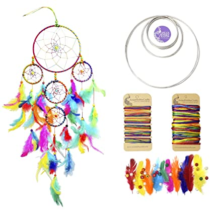 Buy Asian Hobby Crafts Diy Dream Catcher Kit Medium Online At Low