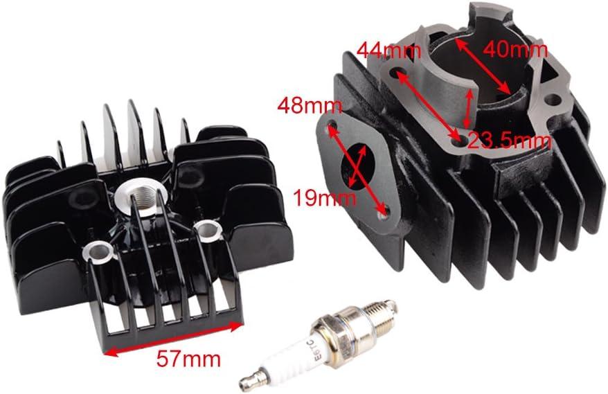 GOOFIT Cylinder Piston Ring Head Gasket Set Kit Carburetor BRAND NEW for YAMAHA PW 50 PW50 QT 50 QT50