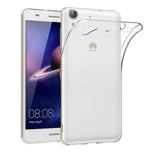 82 opinioni per Cover per Huawei Y6 II, AICEK Cover Huawei Y6 II Silicone Case Molle di TPU