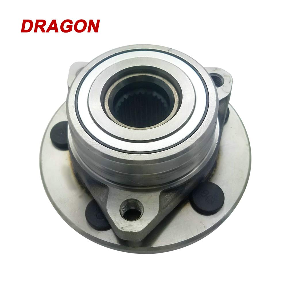DRAGON 513100 X 2 Wheel Bearing HUB Assembly Wheel Hub Bearing Front Fit Ford Taurus 1996-2007 Lincoln Continental 1995-2002 Mercury Sable 1996-2005 W//O ABS