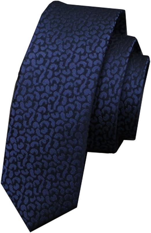Corbata Moda Mulberry Silk Tie Edición Estrecha Azul Oscuro patrón ...