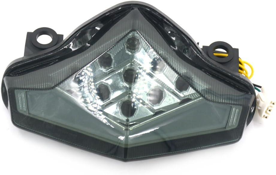 Smoke Brake Turn Signal Tail Light Integrated Led For Kawasaki 2011-2014 ZX10R