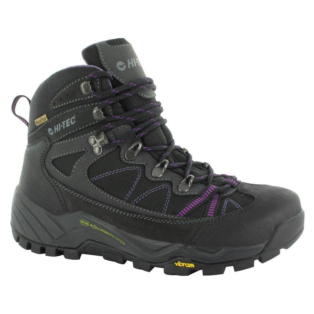 Hi-Tec Womens V-Lite Altitude Pro Lite Closed Toe Ankle Combat Boots B01ED0PJ8A 8.5 B(M) US Charcoal / Orchid