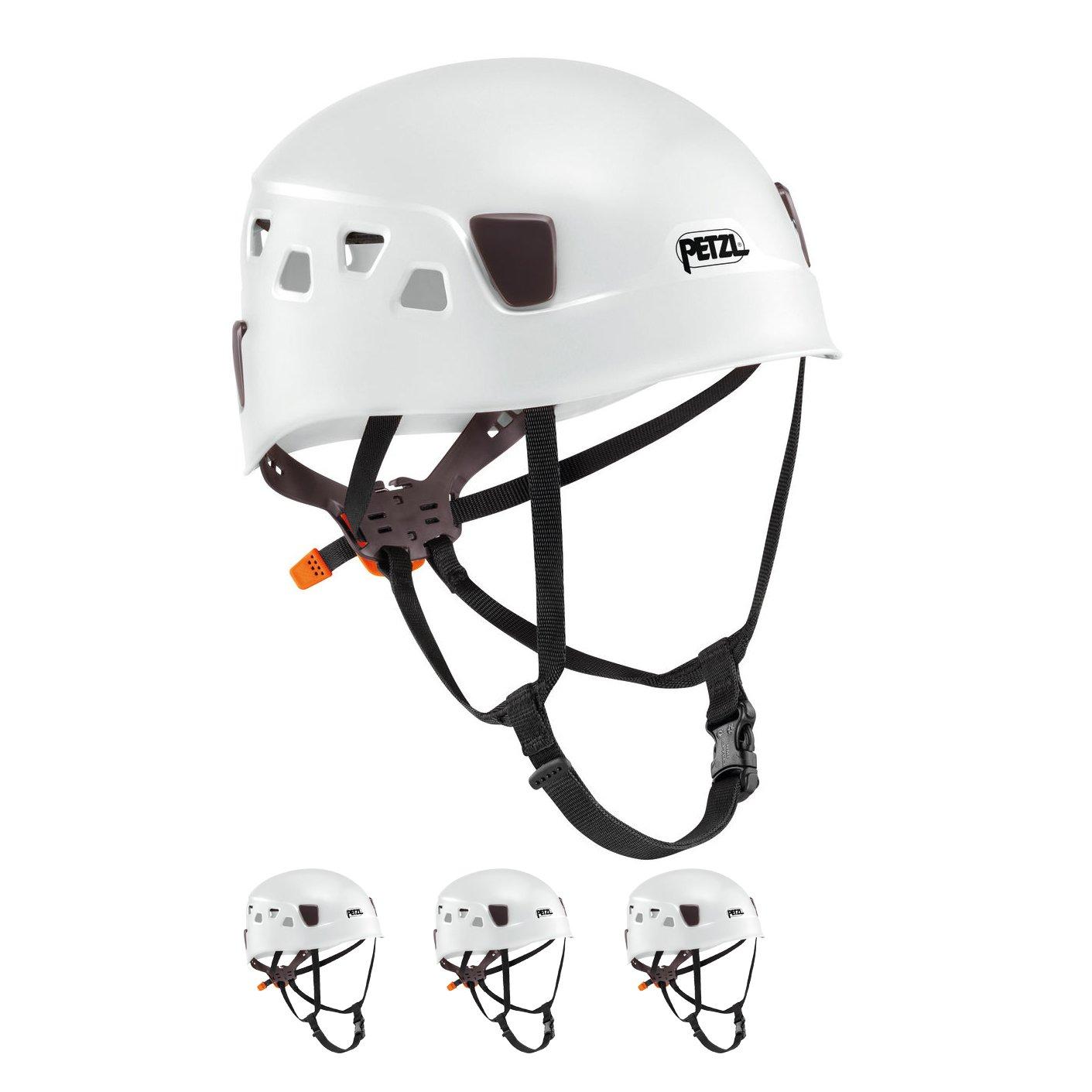 Petzl Panga White Climbing Helmet for Group and Club Use 4 Pack