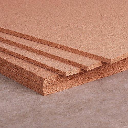 4' Cork Boards - Manton Cork Sheet, 100% Natural, 4' x 8' x 1/4