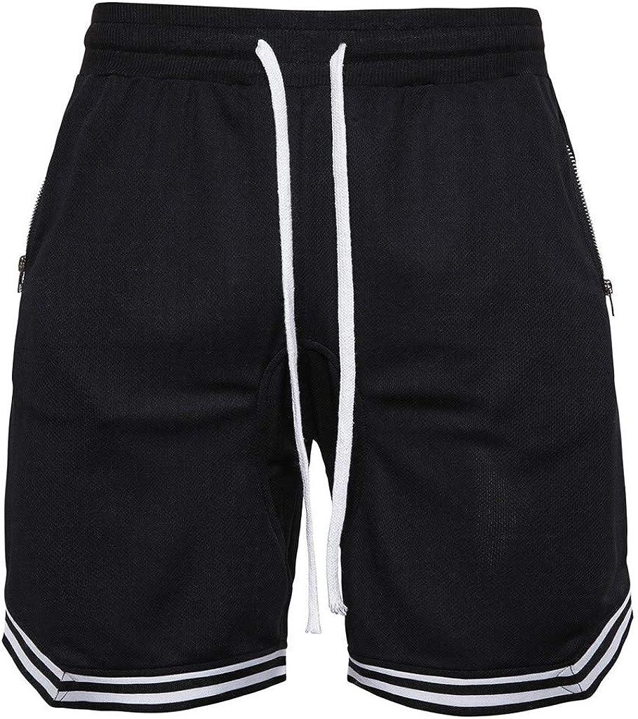 Men Loose Basketball Shorts Quick-Dry Sports Running Gym Short Pants Trunks NEW