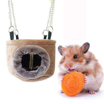 Hamster Bedding Hamster cama casa hamaca animal pequeño cama casa ...
