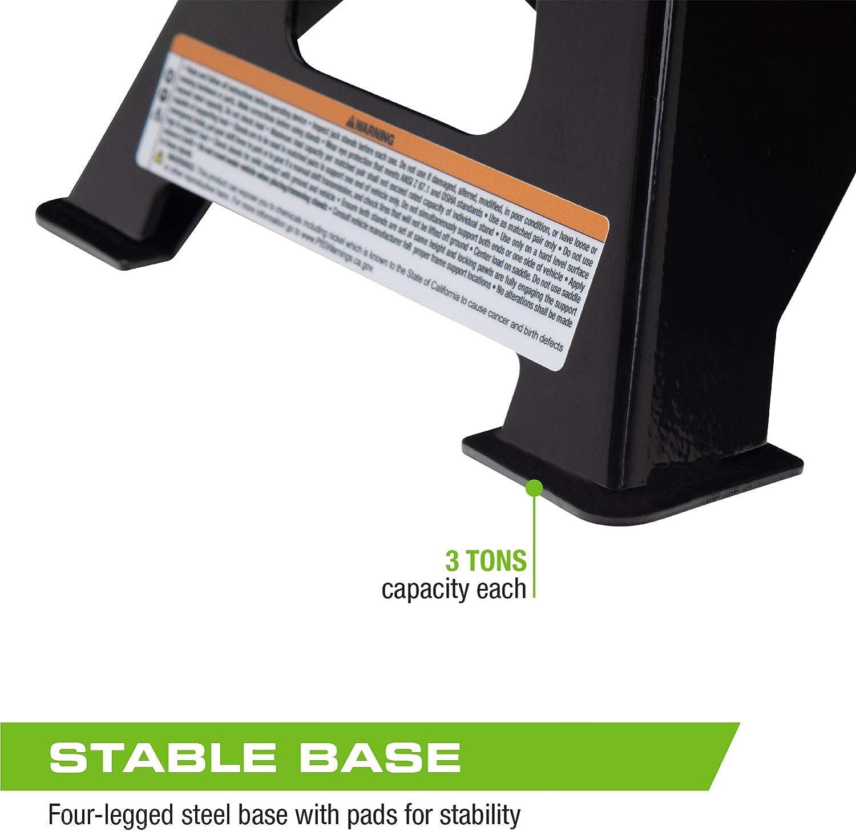 Arcan 3-Ton Steel Jack Stands ALJS3