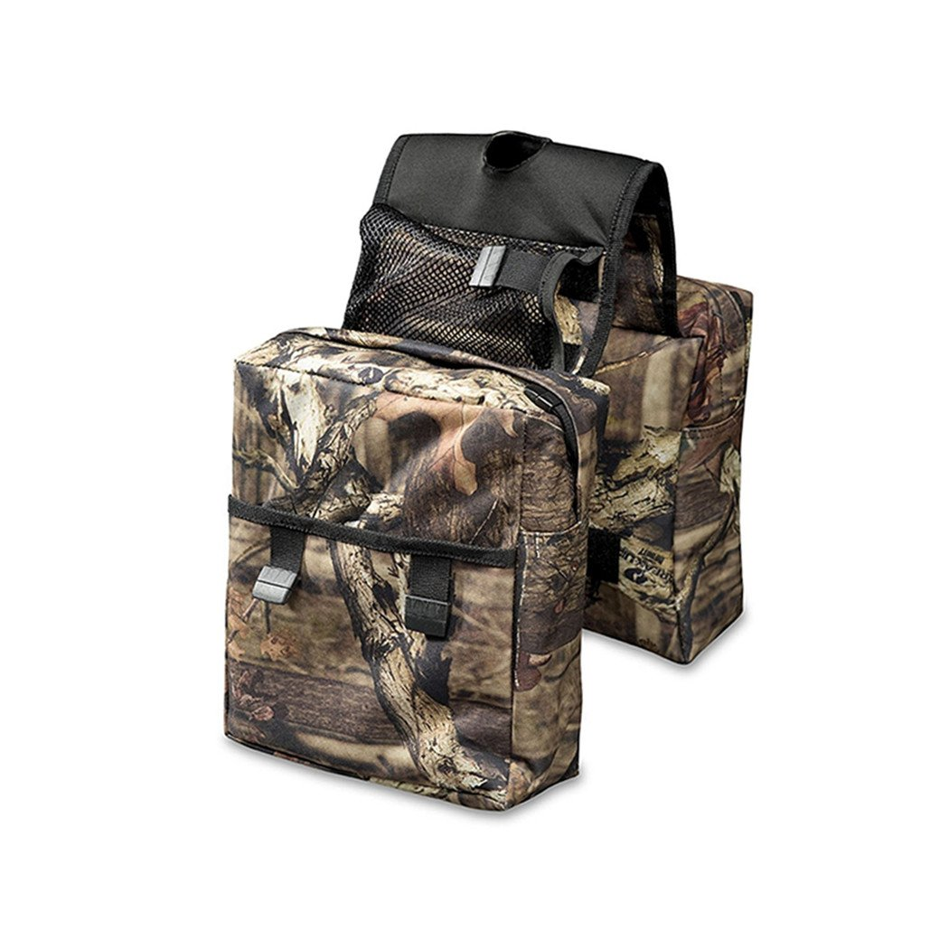 COCO Durable Universal Mossy Oak Infinity Camouflage ATV Tank Bag Saddle Bag Waterproof Rack Bage with Great Add On by Unknown