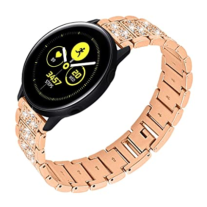 Amazon.com: Bands Compatible with Samsung Galaxy Watch ...