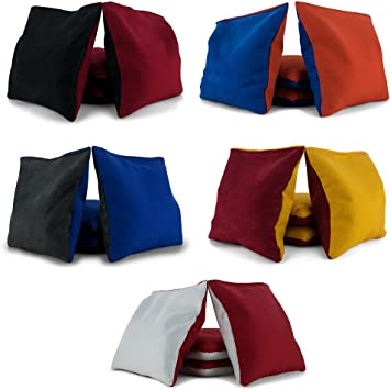8 Unfilled Stop N Go Cornhole Bags,TOURNAMENT style PRO Bags Many Colors