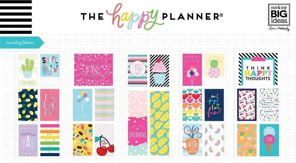 me /& My Big Ideas Journaling Flip Stickers Super Fun