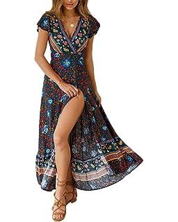 Mujer Vestidos Largos De Verano Vestidos Playa Elegantes