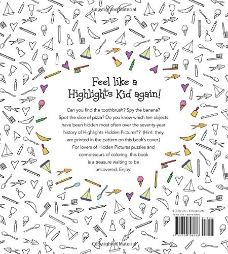 Amazon.com: Highlights® Hidden Pictures®: A Coloring Book for Grown ...