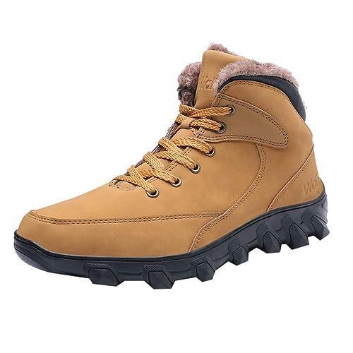 Zapatos Hombre Black Friday Casuales Invierno Cupón Vouchers Calzado Casual para Hombres con Cordones Mantenga los Zapatos Calientes Use Zapatillas de ...