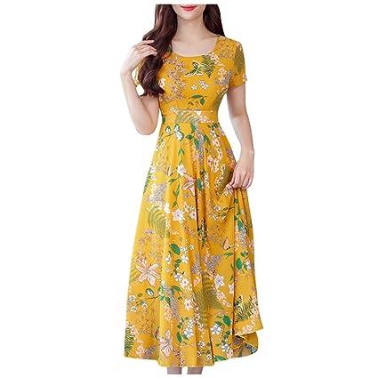Vestidos Mujer Casual,Wave 166 Vestidos Verano 2019 Baratos Verano ...