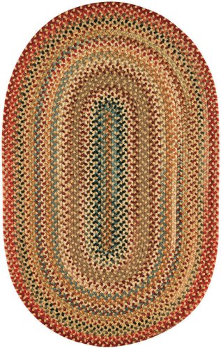 100% Wool Capel Rugs (Capel Rugs Americana Collection 100 Light Gold 5' 6