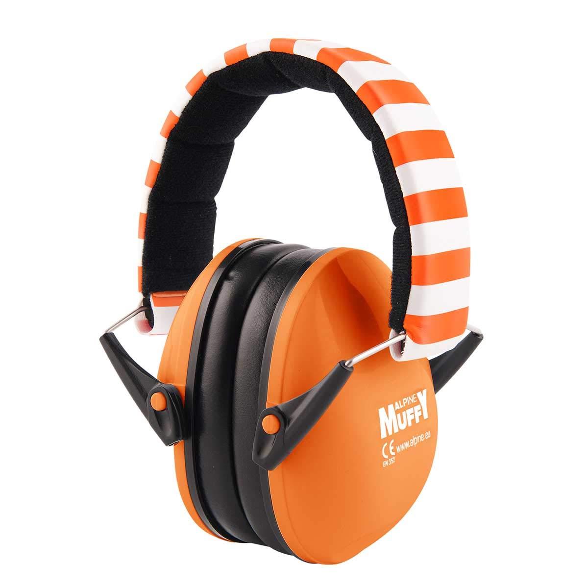 Adjustable Ear Protectors for Kids Black Ear Muffs Alpine Muffy