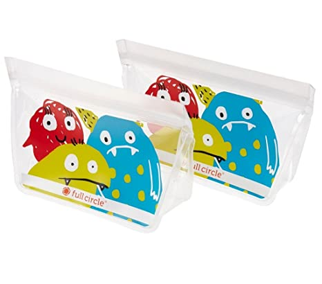 Amazon.com: Bolsas reutilizables para niños ZipTuck de ...