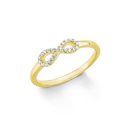 361c0ecbe335 s.Oliver Damen-Ring mit Infinity-Symbol aus 925er Sterling Silber  Amazon.de   Schmuck