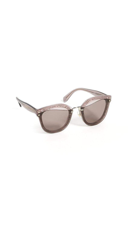 7d377970c Miu Miu 0MU03TS SRO6X1, Gafas de Sol para Mujer, Rosa (Transparent Pink/