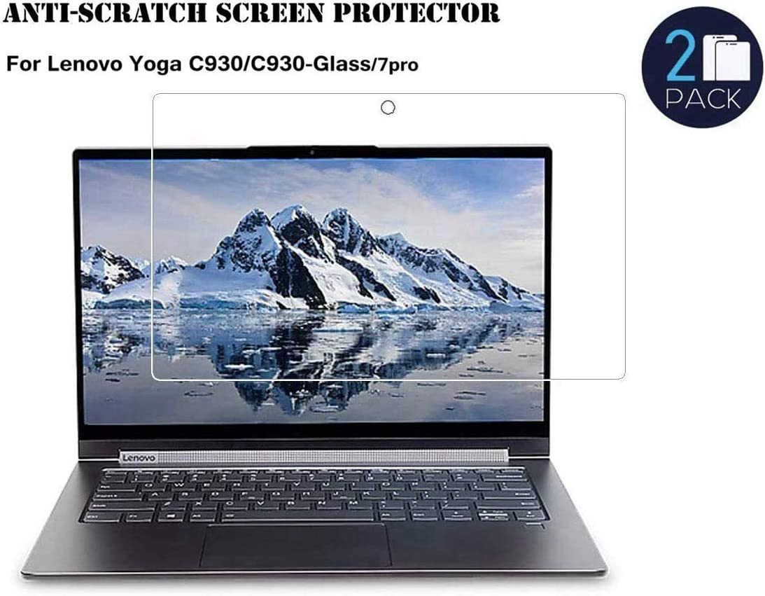 Honeycase Screen Protector for Lenovo Yoga C930/C930-GLASS/7 pro 13.9Inch, Scratch Proof Screen Protector,No Fingerprint/Anti-Glare 1 pc (C930,13.9