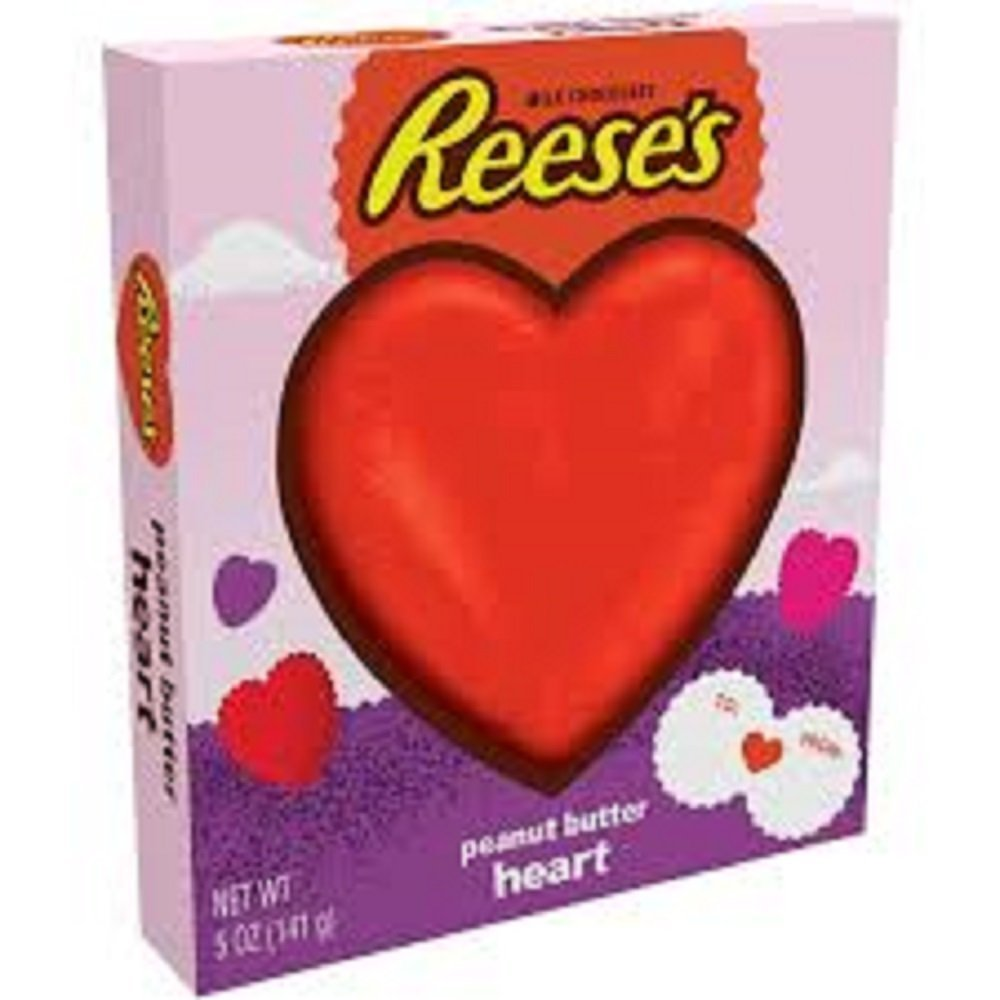 Amazon.com : Reese's Peanut Butter Heart 5 Oz (5 ounces) : Candy ...