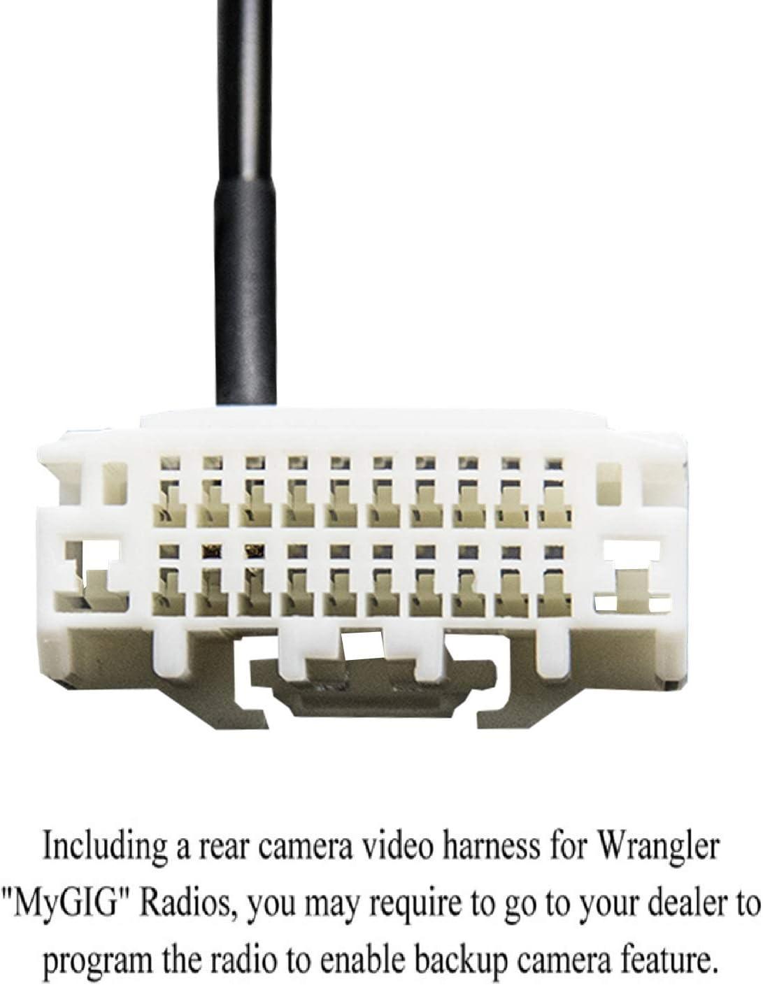Adaptador de arnés para Jeep Wrangler JK Reversing cámara de ...