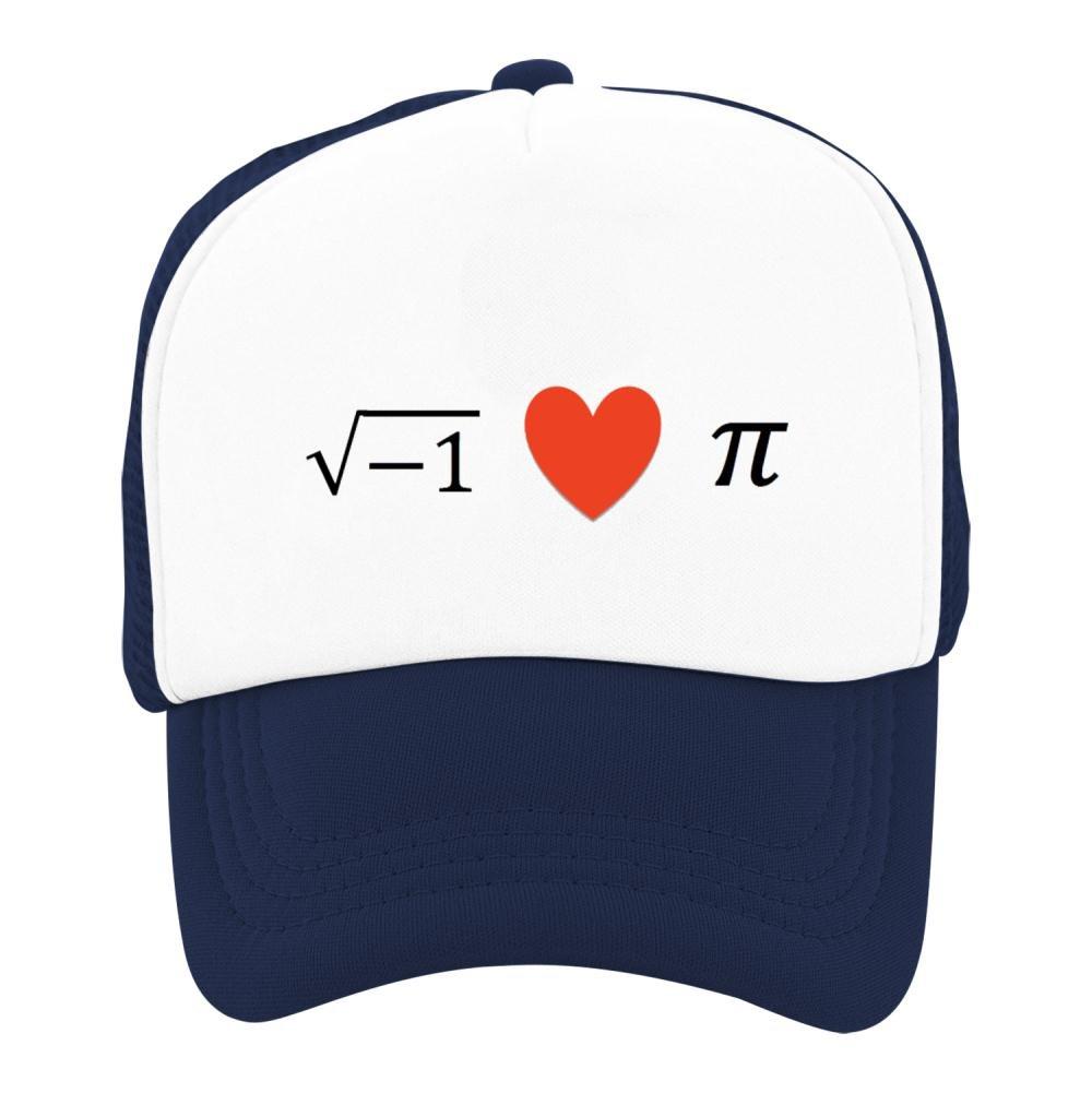 Kids Classic Pi Day Love Mesh Snapback Hats Adjustable Baseball Cap